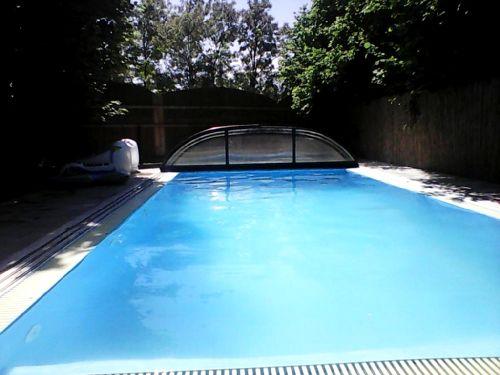Venkovní bazén pro hosty