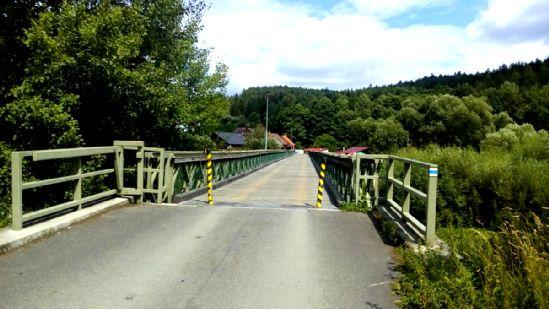 Most v Dobronicích u Bechyně.