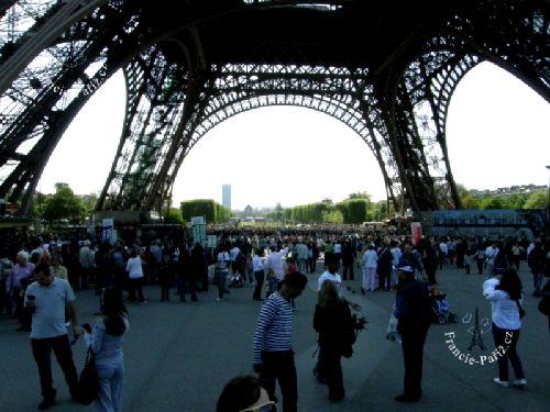 Pod Eiffelovou věží