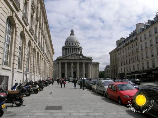 Phanthéon v Paříži