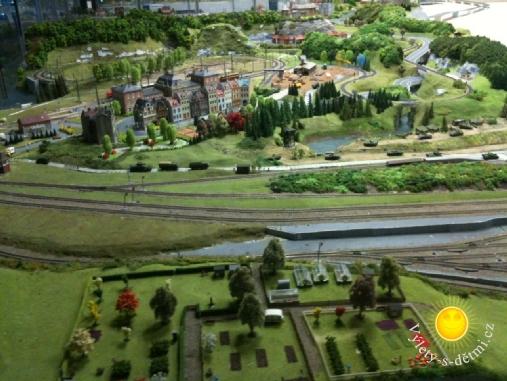 Království železnic - pohled na železnici