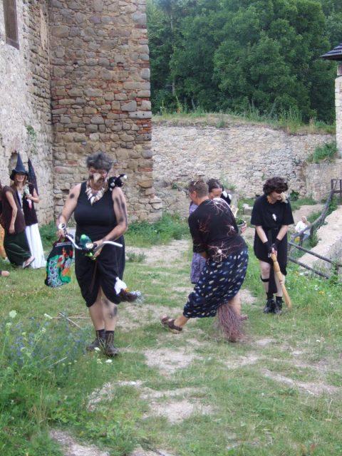 Čarodějnický rej na hradě Lukov