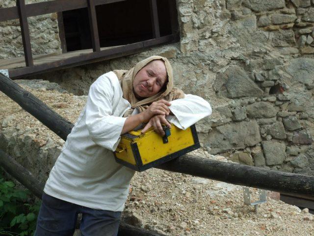 Šaman hlídá poklad hradu Lukov