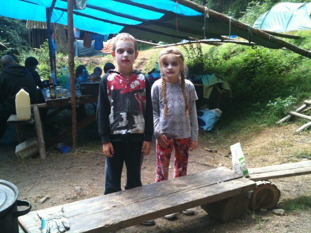 Děti a život v podhradí Lukova