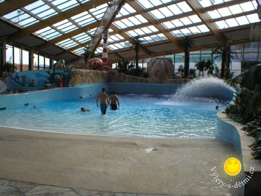 Aquapark Aquapalace v Praze Čestlicích