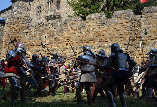 Bitva Budyně nad Ohří 2018 – Boj o údolí