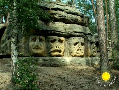 Obří čertovy hlavy aneb český Mt. Rushmore