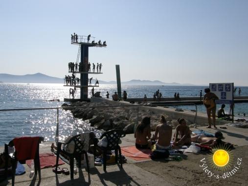 Koupaliště v Zadaru