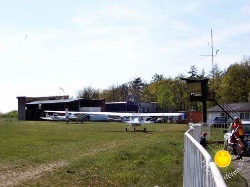 Letiště Točná a tajemný vojenský prostor