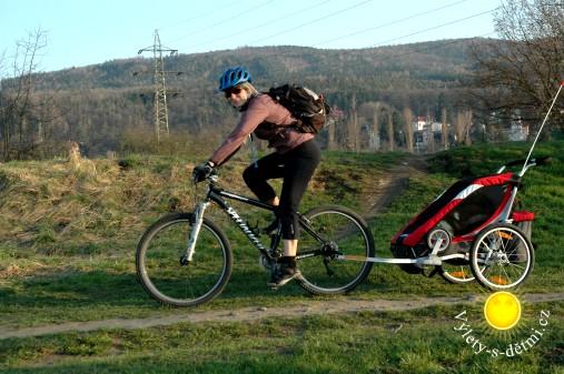 Na kole podél Berounky