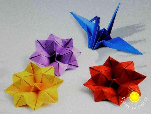 Origami na výstavě v Berouně