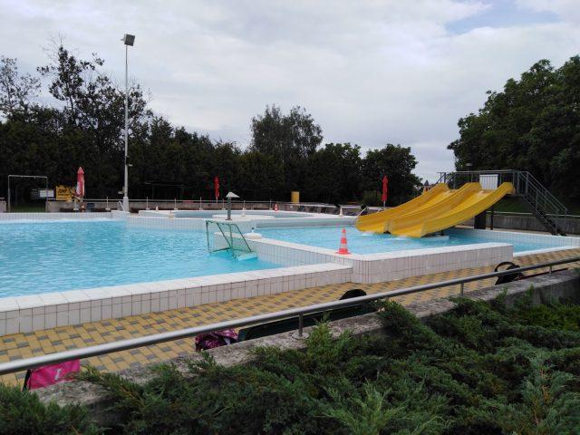 Plavecký stadión v Táboře