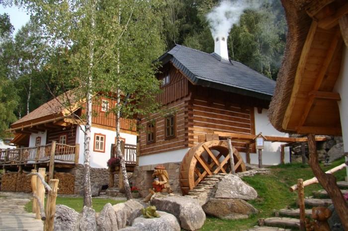 Pohádková vesnička Podlesí