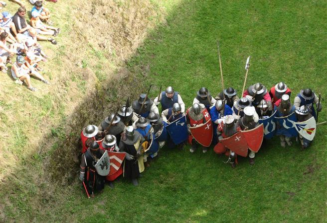Štíty Stříbrného lva – výlet do 14. století