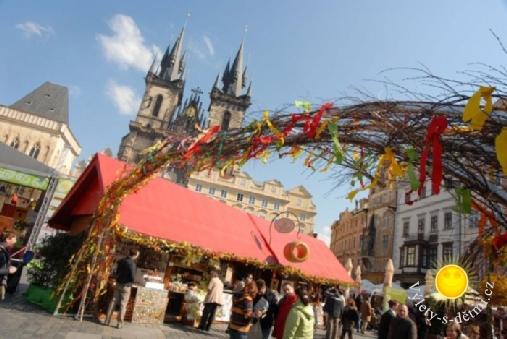 Velikonoce 2012 v Praze