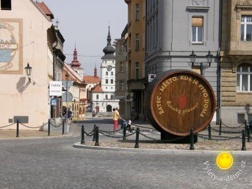 Chrám chmele a piva – město Žatec